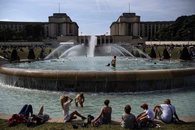 La plaza del Trocadero, en París, el 24 de