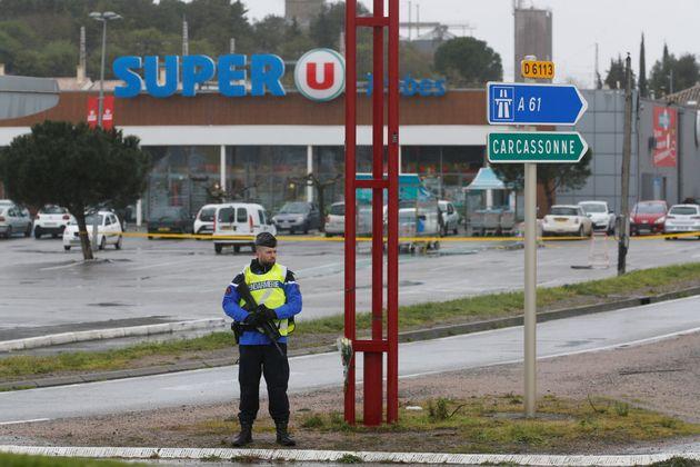 Attentats de Trèbes et Carcassonne: cinq personnes en garde à