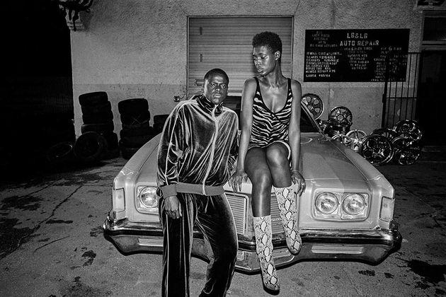 Daniel Kaluuya eJodie Turner-Smith como Slim e Queen, um casal que vira, meio sem querer, um símbolo...
