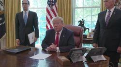 Trump annuncia le sanzioni all'Iran:
