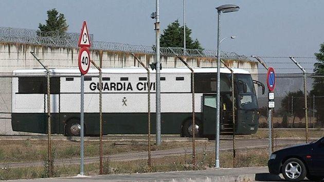 Los presos varones del 'procés' harán noche en la prisión de Zuera