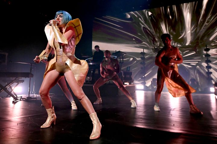 Lady Gaga's Apollo Theater set list loosely followed the plot of her current Las Vegas residency.