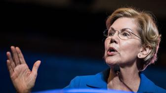 COLUMBIA, SC - JUNE 22: Democratic presidential candidate, Sen. Elizabeth Warren (D-MA) addresses the crowd at the 2019 South Carolina Democratic Party State Convention on June 22, 2019 in Columbia, South Carolina. Democratic presidential hopefuls are converging on South Carolina this weekend for a host of events where the candidates can directly address an important voting bloc in the Democratic primary. (Photo by Sean Rayford/Getty Images)