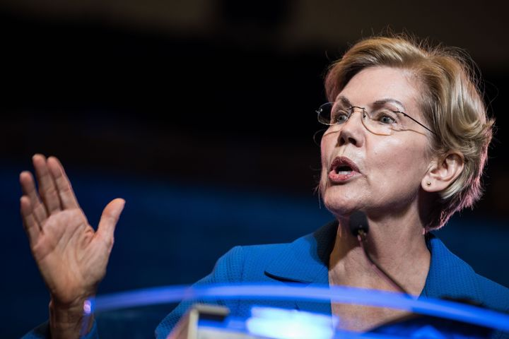 Sen. Elizabeth Warren (D-Mass.) had not previously voiced support for decriminalizing unauthorized border crossing.
