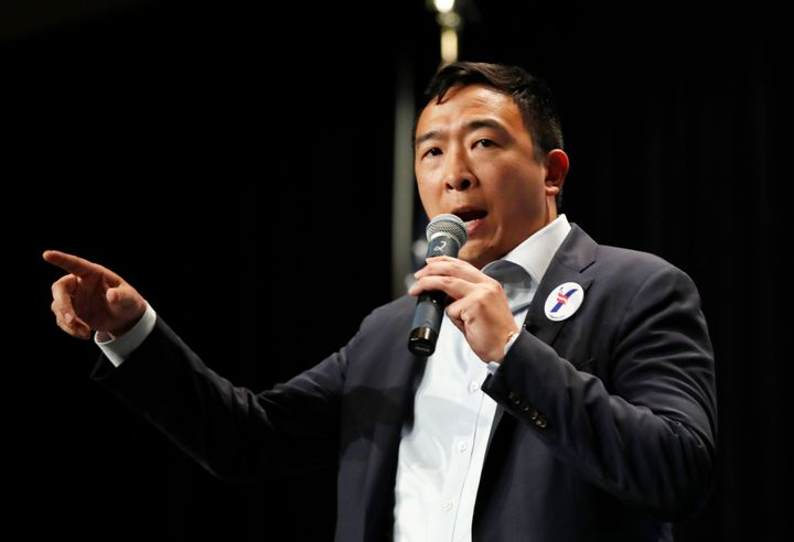 Andrew Yang was one of the earliest candidates to declare his bid for the Democratic presidential nomination.