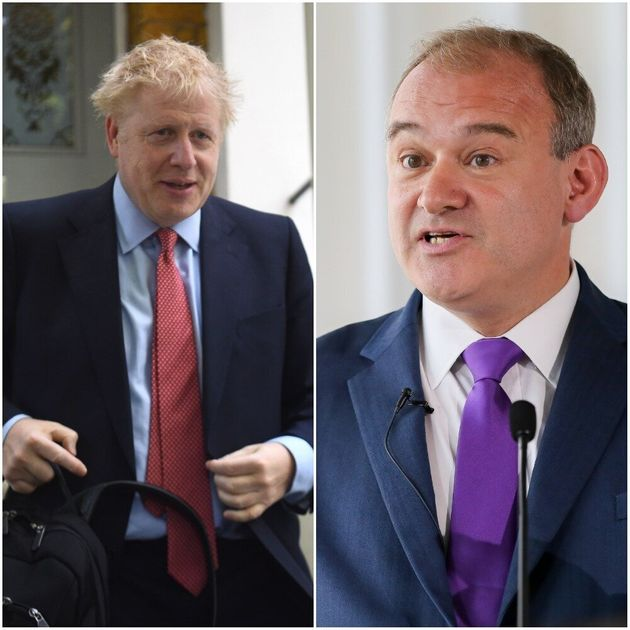 Lib Dem Leadership Hopeful Ed Davey 'Sorry' After Writing About Plan To 'Decapitate' Boris Johnson