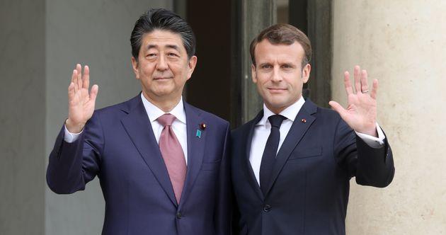 """Résultat de recherche d'images pour """"GHOSN Macron"""""""