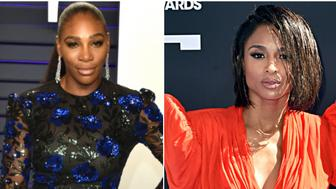 Serena Williams and Ciara (Getty Images).