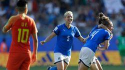 L'Italia delle donne non si ferma più: batte la Cina e vola ai quarti di