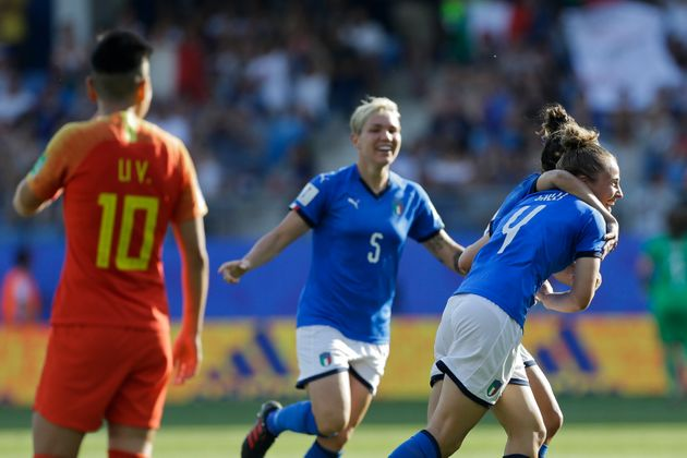 Mondiali calcio femminile: l'Italia batte la Cina 2-0. Azzurre ai quarti di