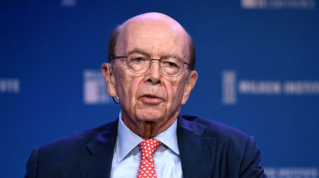 BEVERLY HILLS, CALIFORNIA - APRIL 29: Wilbur Ross participates in a panel discussion during the annual Milken Institute Global Conference at The Beverly Hilton Hotel  on April 29, 2019 in Beverly Hills, California. (Photo by Michael Kovac/Getty Images)