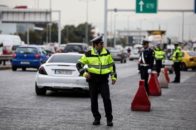 Διακοπή της κυκλοφορίας στην Αθηνών - Θεσσαλονίκης την