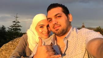 Raised in Syria, Alghazzouli and his wife grew up as childhood friends from Damascus before falling in love. Today, she's stranded in Turkey due to the Muslim ban. Photo provided by Ramez Alghazzouli.