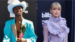 Lil Nas X Drives Taylor Swift Off The Road To No. 1
