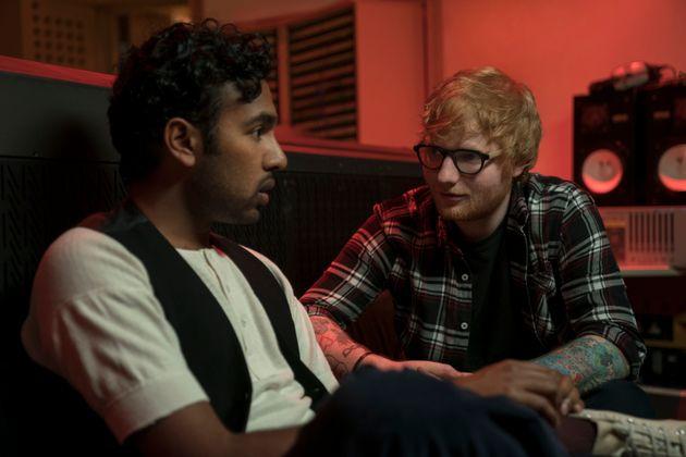 Himesh Patel and Ed Sheeran in