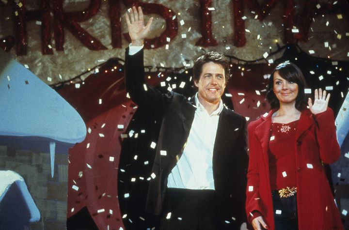 "Hugh Grant and Martine McCutcheon in ""Love Actually,"" released in 2003."