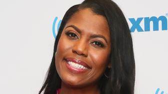 NEW YORK, NEW YORK - APRIL 25: (EXCLUSIVE COVERAGE) Omarosa Manigault Newman visits the SiriusXM Studios on April 25, 2019 in New York City. (Photo by Astrid Stawiarz/Getty Images)