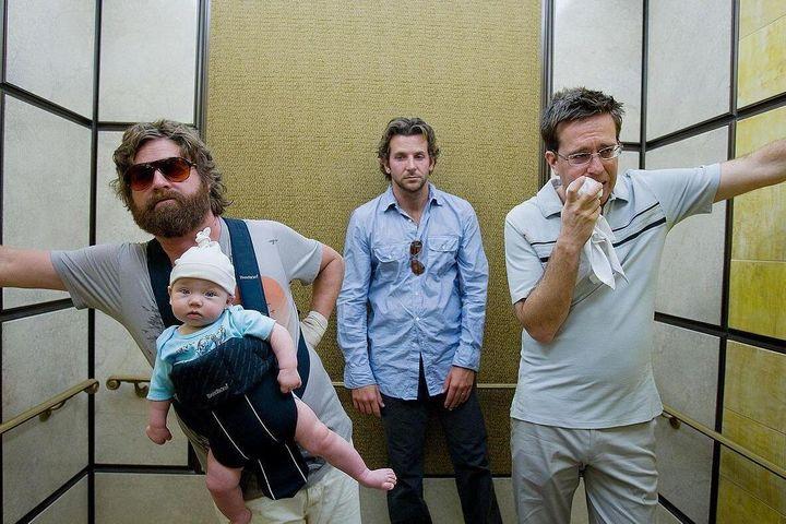 """The Hangover"" on Netflix."