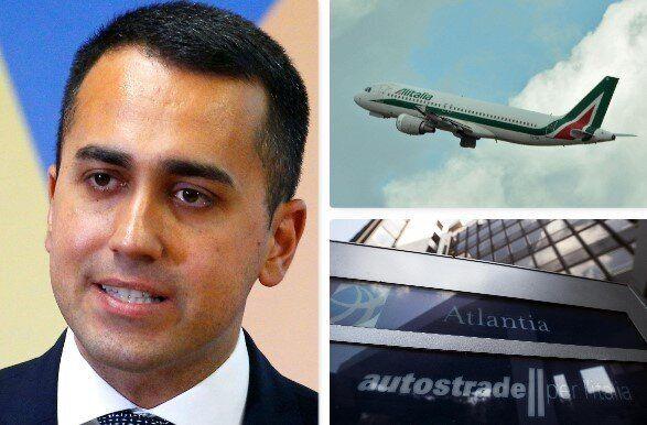 Cade il veto M5s sui Benetton dentro Alitalia