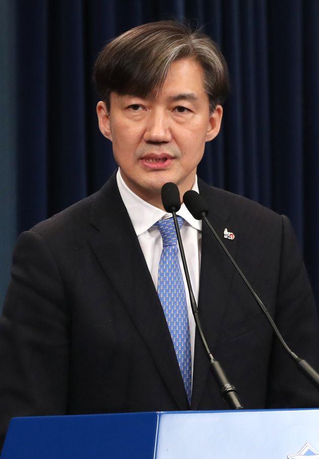 청와대가 법무부 장관 기용을 위해 사전 검증 돌입한