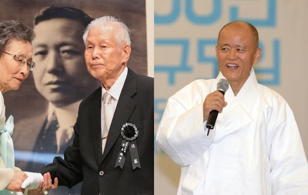 이승만 전 대통령의 유족이 도올 김용옥을