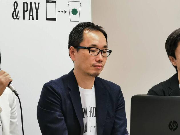 ▲デジタル戦略本部長の濱野努氏