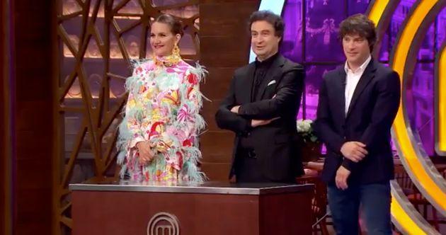 El vestido de Samantha Vallejo-Nágera, el otro gran protagonista de la final de 'MasterChef'