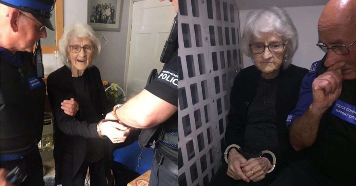 Great-Great-Grandmother Asks To Be Arrested So She Can Know 'What It's Like To Be Naughty'