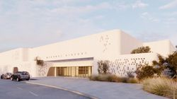 O περιστερώνας της Μυκόνου: Η εμφάνιση του νέου αεροδρομίου στο «νησί των ανέμων» ταιριάζει απόλυτα με το κυκλαδίτικο