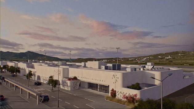 O περιστερώνας της Μυκόνου: Η εμφάνιση του νέου αεροδρομίου στο «νησί των ανέμων» ταιριάζει απόλυτα με...