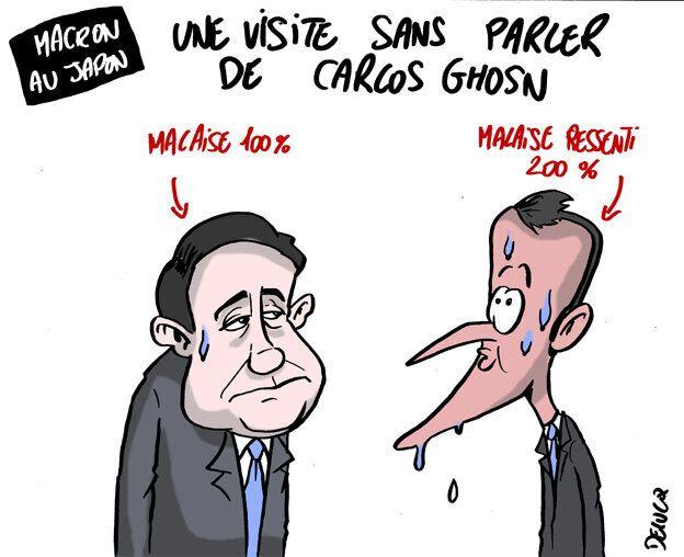 Gros coup de chaud pour Macron au