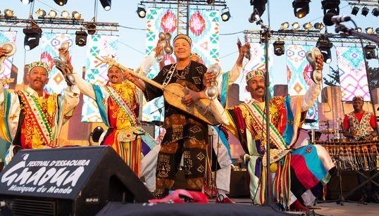 Le festival Gnaoua d'Essaouira, entre sacs à dos, melting pot et fusions