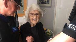 A 93 enne viene arrestata per realizzare il suo ultimo desiderio prima di