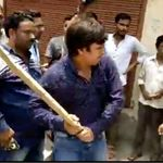 Watch: BJP MLA Akash, Son Of Kailash Vijayvargiya, Thrashes Civic