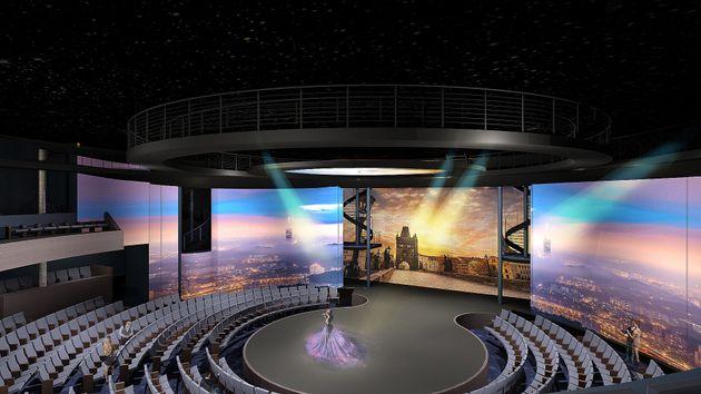 """Vacanze in 3D a bordo della prima nave al mondo """"oltre il"""
