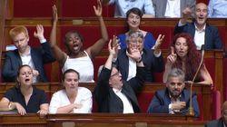 Cette réaction des Insoumis à l'Assemblée vaut le