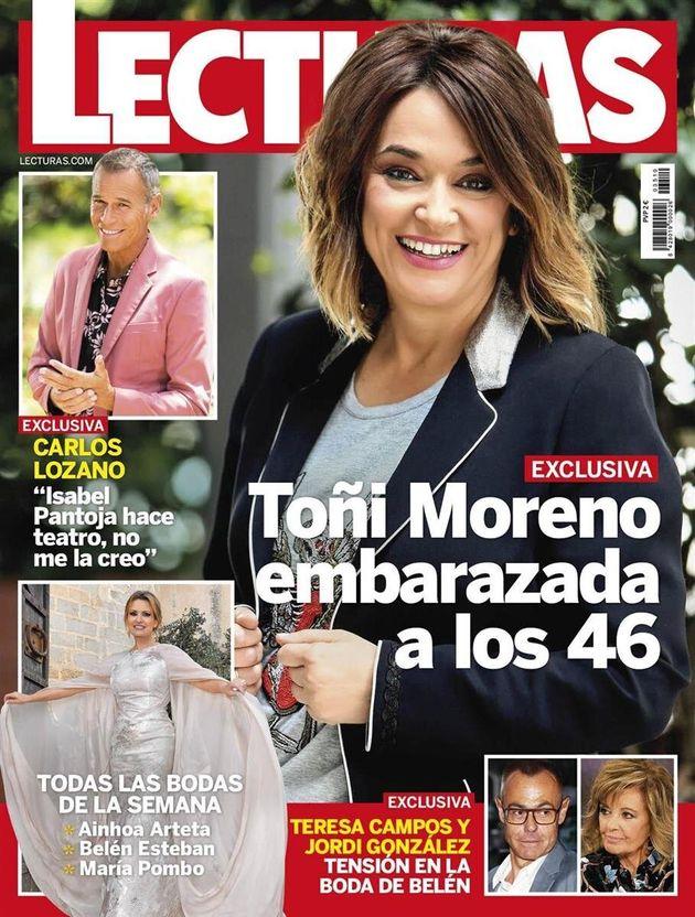 Toñi Moreno, embarazada a los 46