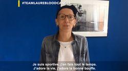 Sportifs, people et anonymes mobilisés pour Laure Vitou, atteinte d'une