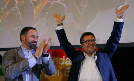 Francisco Serrano (Vox) se coge una baja médica