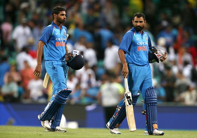 Mohammed Shami and Bhuvneshwar