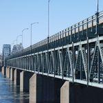 Des travaux causent une congestion importante sur le pont