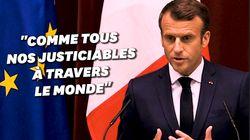 Depuis le Japon, Macron dit ne pas vouloir