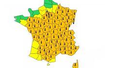 Canicule: 13 nouveaux départements en vigilance orange pour un total de