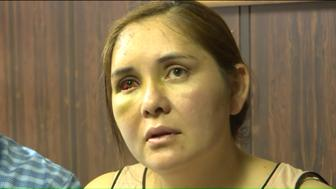 Beronica Ruiz says she was beaten unconscious by a 13-year-old boy who had been bullying her son, telling him to go back to Mexico.
