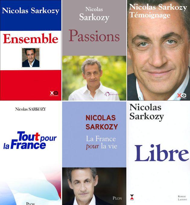 Depuis 1994, Nicolas Sarkozy a publié plus d'une dizaines d'ouvrages, entre sa biographie...