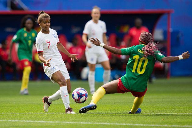 Le huitième de finale Angleterre-Cameroun à Valenciennes le 23 juin