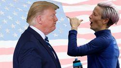 La capitana Usa boicotta l'inno, Trump furioso contro Megan