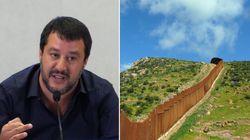 Trumpizzazione completa. Salvini evoca il muro con la Slovenia: