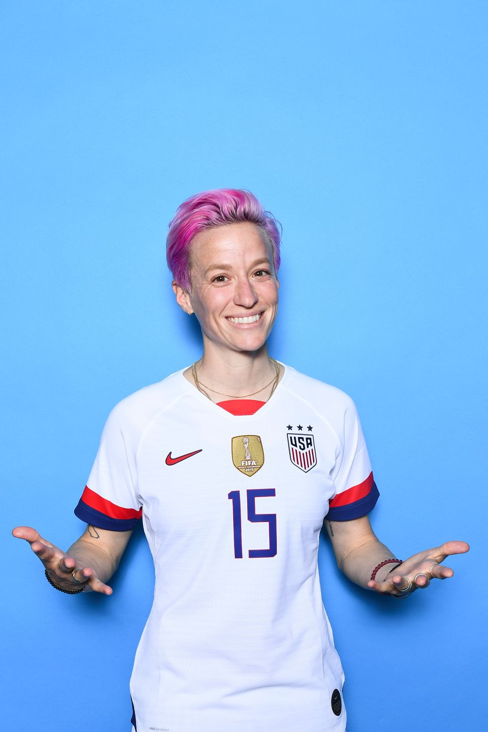Megan Rapinoe S Style Scores Big Time On And Off The