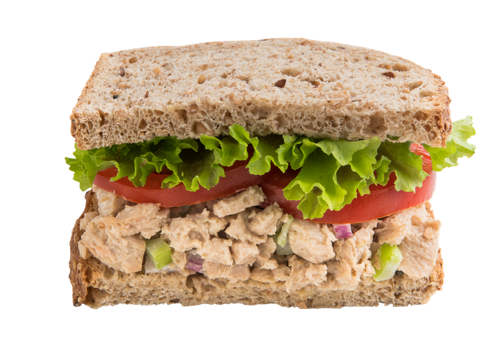 Tuno, seen here, comes in a can or pouch and is a blend of plant-based proteins meant to mimic canned tuna.